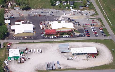 Aerial view of Campbellsville Industries, Inc. compliments of www.campbellsville.com